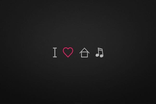 Amo la música house