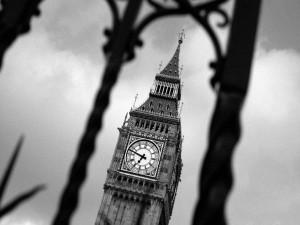 Postal: Big Ben en Londres