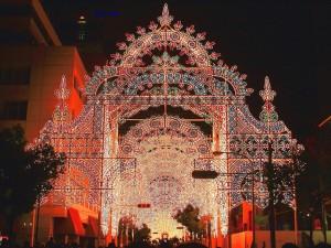 Luces festivas