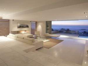 Postal: Diseño de una moderna casa de playa