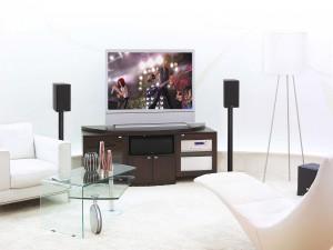 Una bonita sala de estar