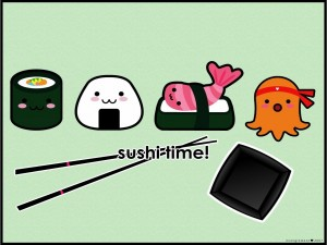 Postal: Shushi time!