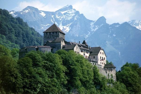Castillo de Vaduz, Liechtenstein