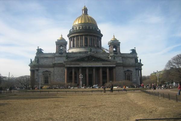 Catedral de San Isaac, San Petersburgo (Rusia)