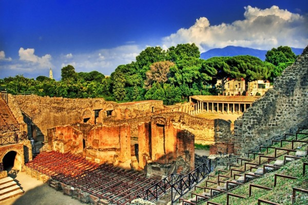 Anfiteatro romano de Pompeya