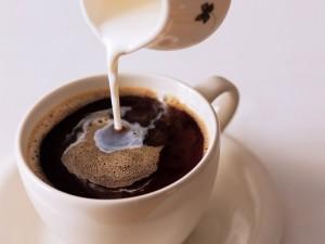 Postal: Café con leche