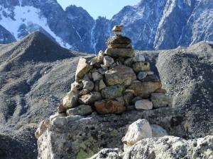 Col d'Arsine (2340 m.) mojón