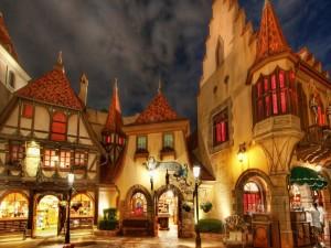 Postal: Mundo de Disney
