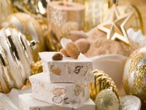 El turrón de Navidad