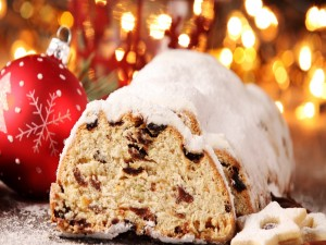 Postal: Cupcake navideño