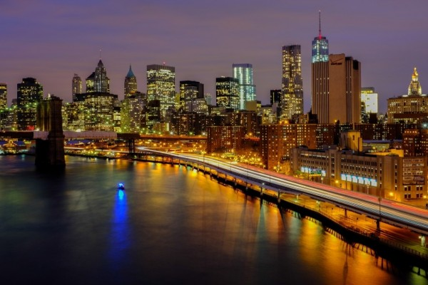 La noche en Nueva York