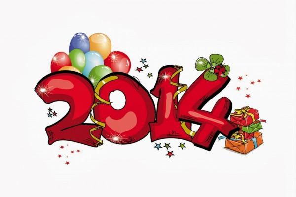 Festejando el Año Nuevo 2014