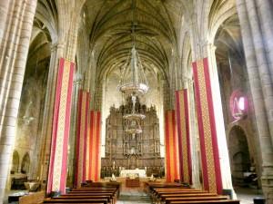Interior de la Catedral de Santa María, Cáceres (España)