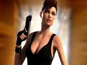 Postal: Lara Croft