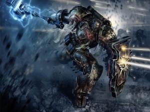 Postal: Warhammer Space Marine