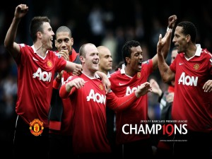 Manchester United, campeón de la Premier League 2010/11