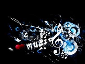 Postal: Amor por la música
