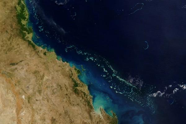 La Tierra vista desde un satélite