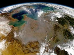 Postal: ¿Cómo se ve la Tierra desde el espacio?