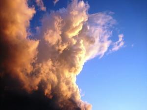 Postal: Nube de tormenta