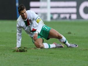 Postal: Cristiano Ronaldo con la selección portuguesa
