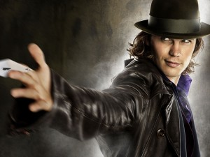 """Taylor Kitsch como Gambito en """"X-Men Origins: Wolverine"""""""