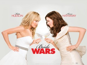 Postal: Guerra de novias