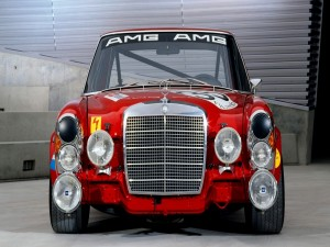 Postal: AMG Mercedes 300 SEL 6.8