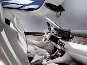 Postal: Interior de un BMW