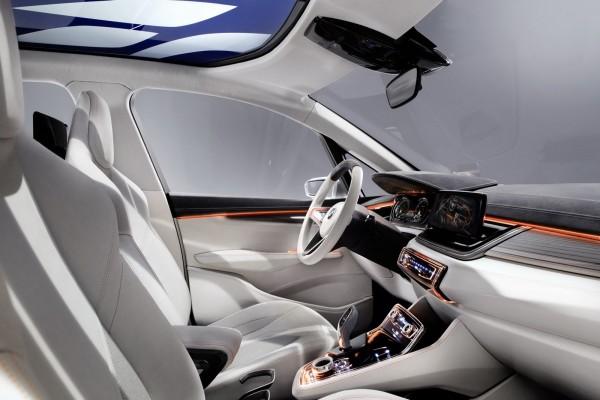 Interior de un BMW