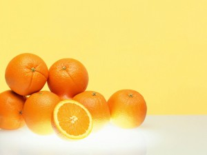 Postal: Naranjas frescas