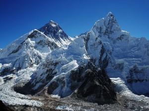 Monte Everest y el Nuptse de Kalapatthar