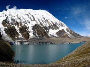 Postal: Lago Tilicho en el Annapurna (Nepal)
