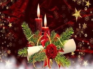 Adorno para adornar en Navidad