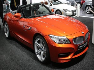 BMW Z4 sDrive 35is, naranja