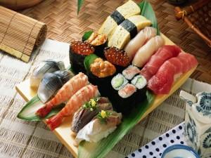 Comida Japonesa: Makizushi, Nigirizushi, Futomaki