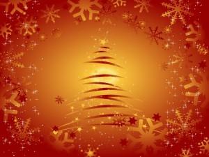 Postal: Arbolito de Navidad