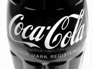 Postal: Botella de Coca-Cola