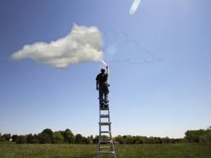 Pintando nubes