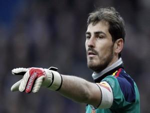 "Casillas con ""La Roja"""