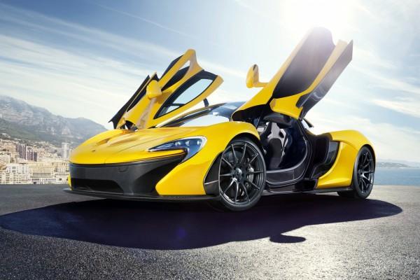 McLaren P1, amarillo