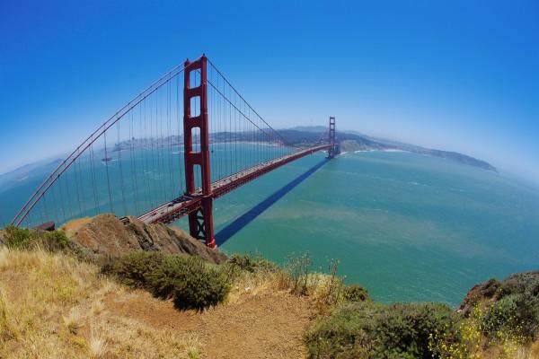 Vista del puente Golden Gate