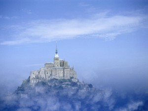 Monte Saint-Michel, Baja Normandía (Francia)