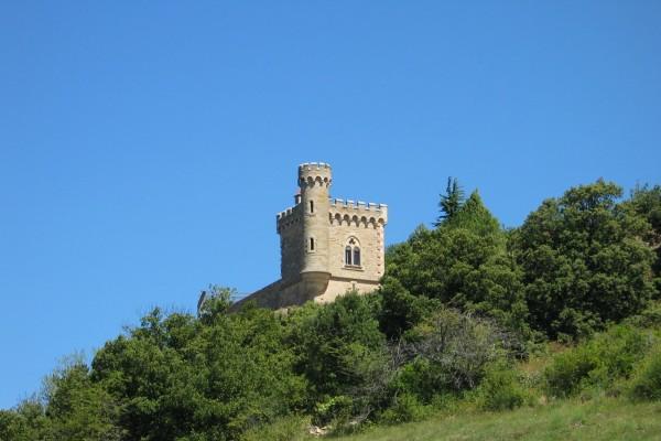 Torre Magdala, en el pueblo Rennes-le-Château (Francia)