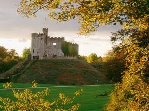Pequeño castillo en la colina
