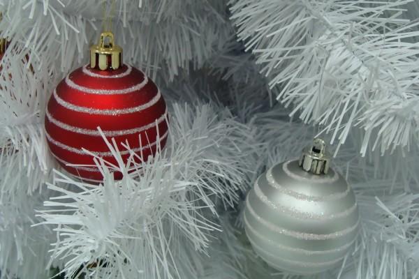 Árbol blanco de Navidad