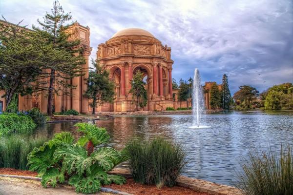 Palacio de Bellas Artes, en el distrito de Marina (San Francisco)