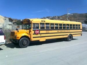 Camión de escolares
