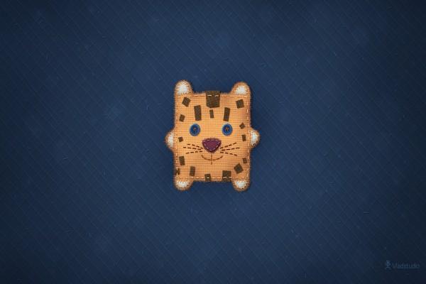 León de trapo