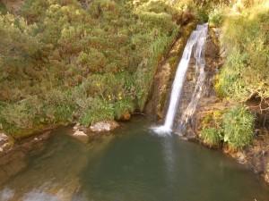 Cascada en Babia (Provincia de León, España)